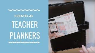 Createl A5 Compact-Lehrer-Planer