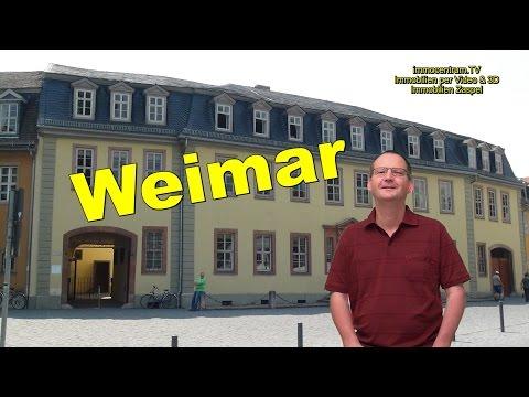 Weimar🕍🏰Klassikerstadt Thüringen*Goethe & Schiller*Bauhaus*Stadtrundgang *Doku *Sehenswürdigkeiten