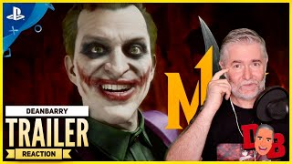 Mortal Kombat 11 Kombat Pack - The Joker Official Gameplay Trailer Reaction