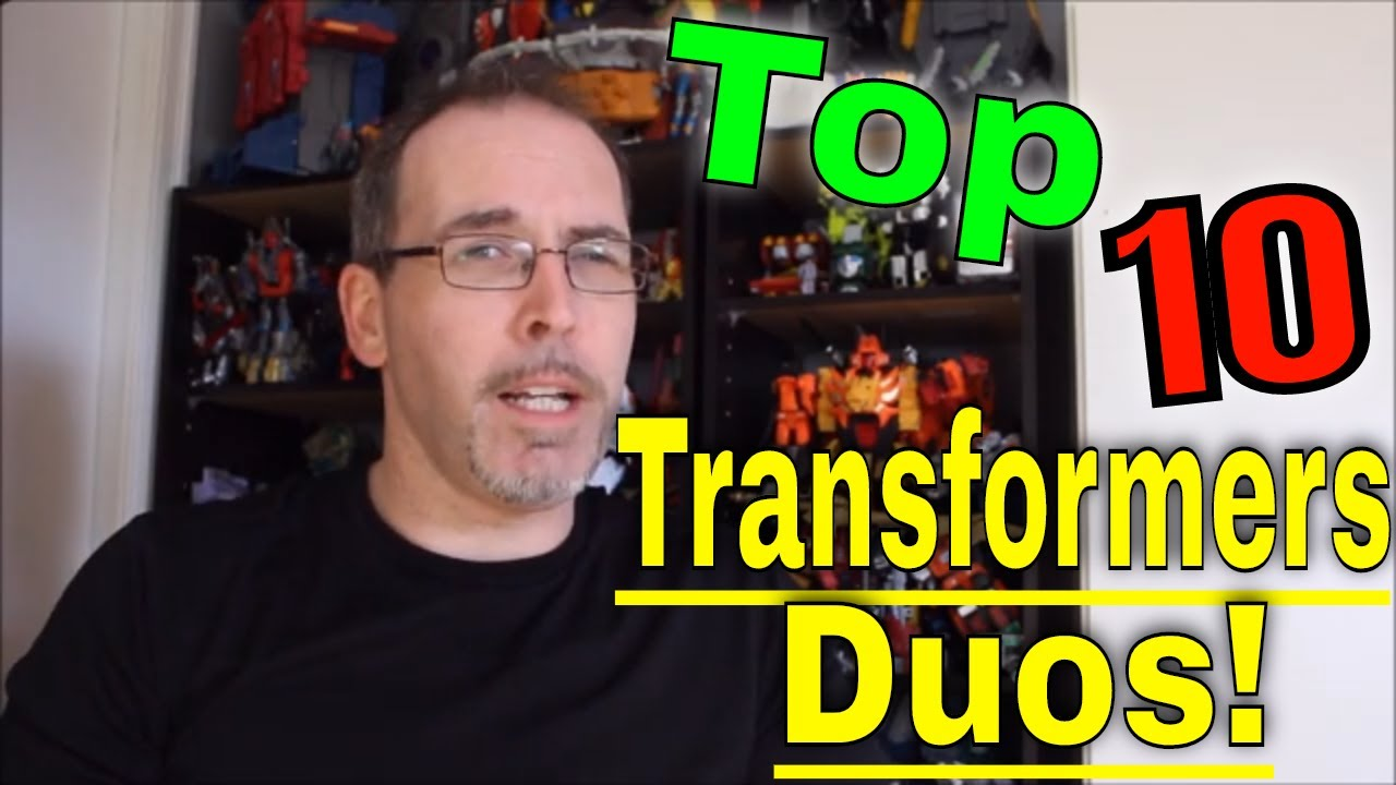 GotBot Counts Down: Top 10 Transformers Duos!