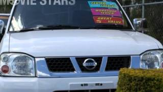 2004 Nissan Navara D22 ST-R Turbo Diesel White 5 Speed Manual Dual Cab