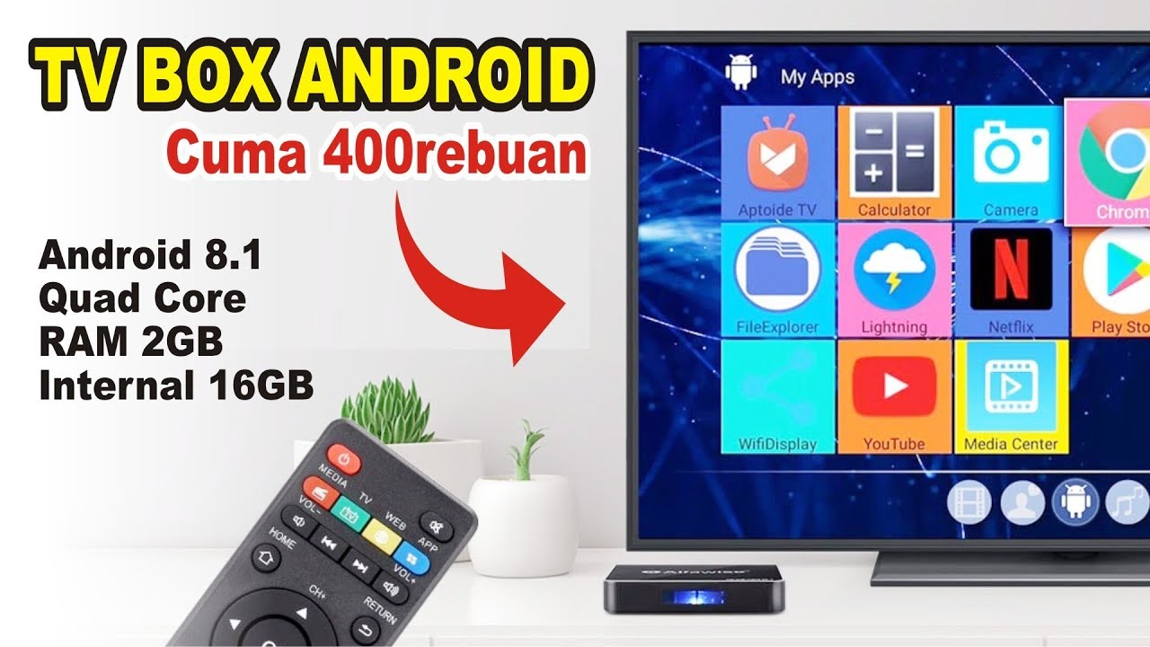 Android TV Box cuma 400rebuan ! BISA APA ? Review Alfawise A8 Indonesia