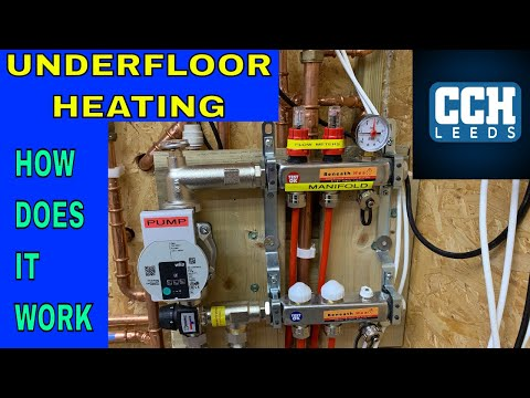 Plumbing - How Does Underfloor Heating Work