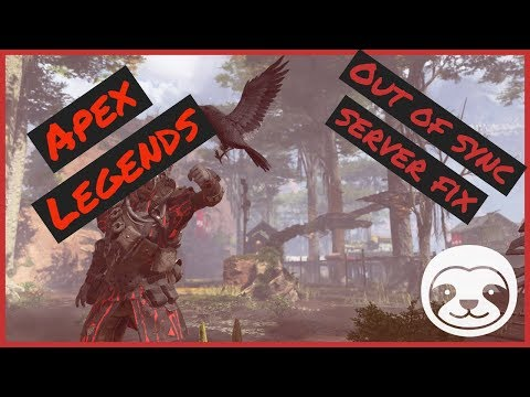 How to fix out of sync with server issues on Apex Legends