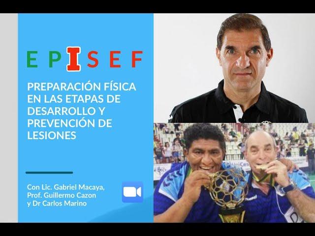 EPISEF - Preparación Física en las Etapas de Desarrollo y Prevención de Lesiones