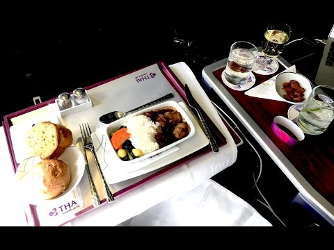 ✈︎ TRIP REPORT ✈︎ Thai Airways || Business Class || Manila-Bangkok