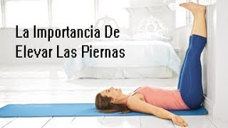 Yoga la piernas contra pared