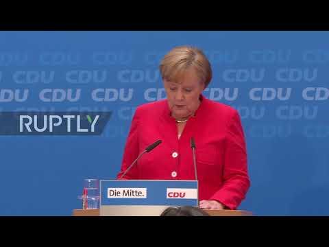 Germany: CDU/CSU Have 'common Goal' To Reduce Immigration - Merkel