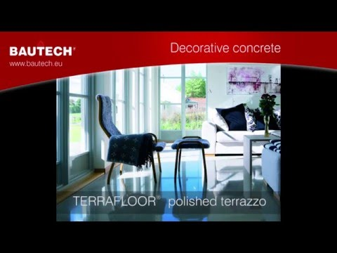 How To Make Polished Terrazzo Bautech Floors Youtube