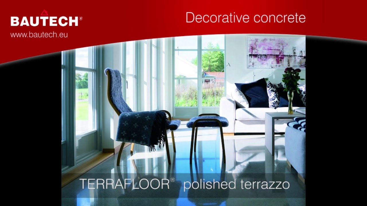 How To Make Polished Terrazzo Bautech Floors