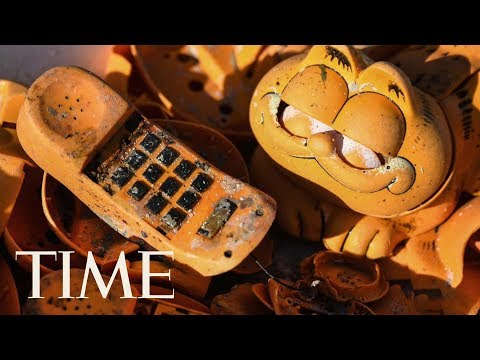 The Mystery Of Garfield Phones Washing Up On French Beaches Since The '80s Has Been Solved | TIME