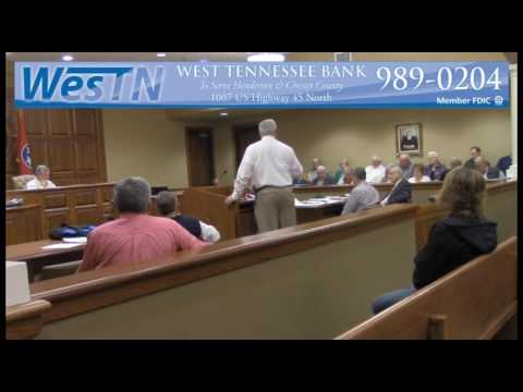 Chester County Commission Meeting 11-14-16