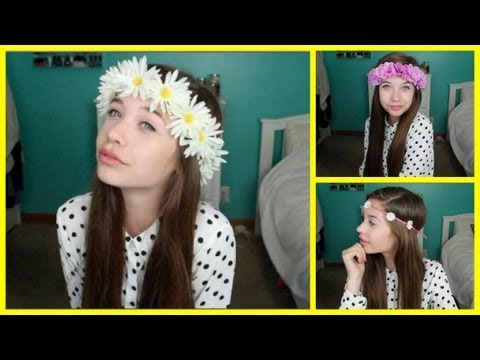 DIY: Flower Crown/Headband !