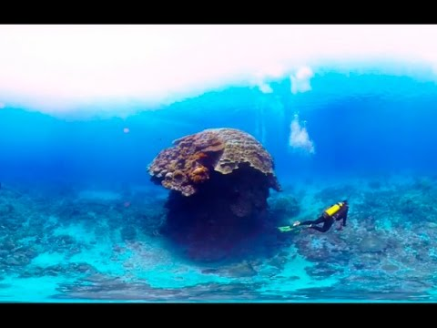 Scuba Diving Short Film in 360° Green Island, Taiwan ( 綠島, 台灣) 4K Video Quality