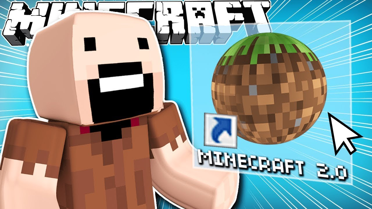 If Minecraft 2 0 Was Created Youtube