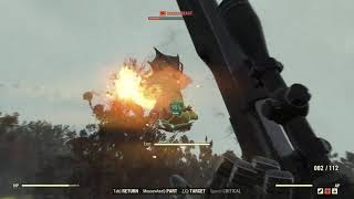 Fallout 76 - EASIEST AND BEST WAY TO KILL SCORCHBEAST