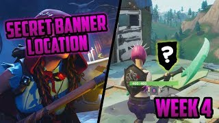 Season 6, Week 4 | *SECRET* 'Battle Star' Location (Secret Banner) - Fortnite