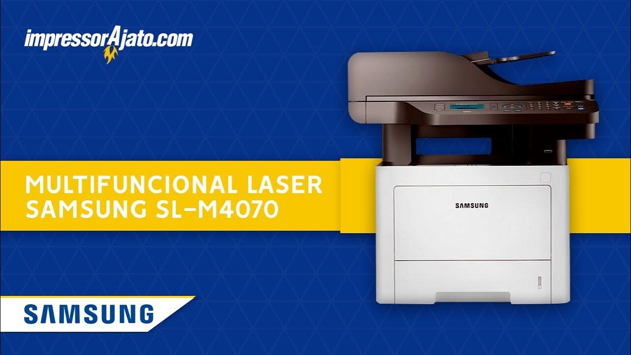 Multifuncional Laser Samsung SL-M4070 - YouTube 972dcbe914