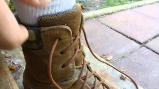 tactical life lesson operate your boot laces