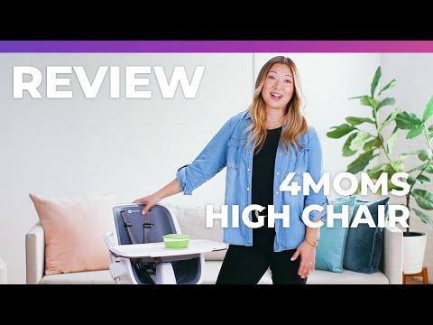 4moms High Chair - What To Expect Review