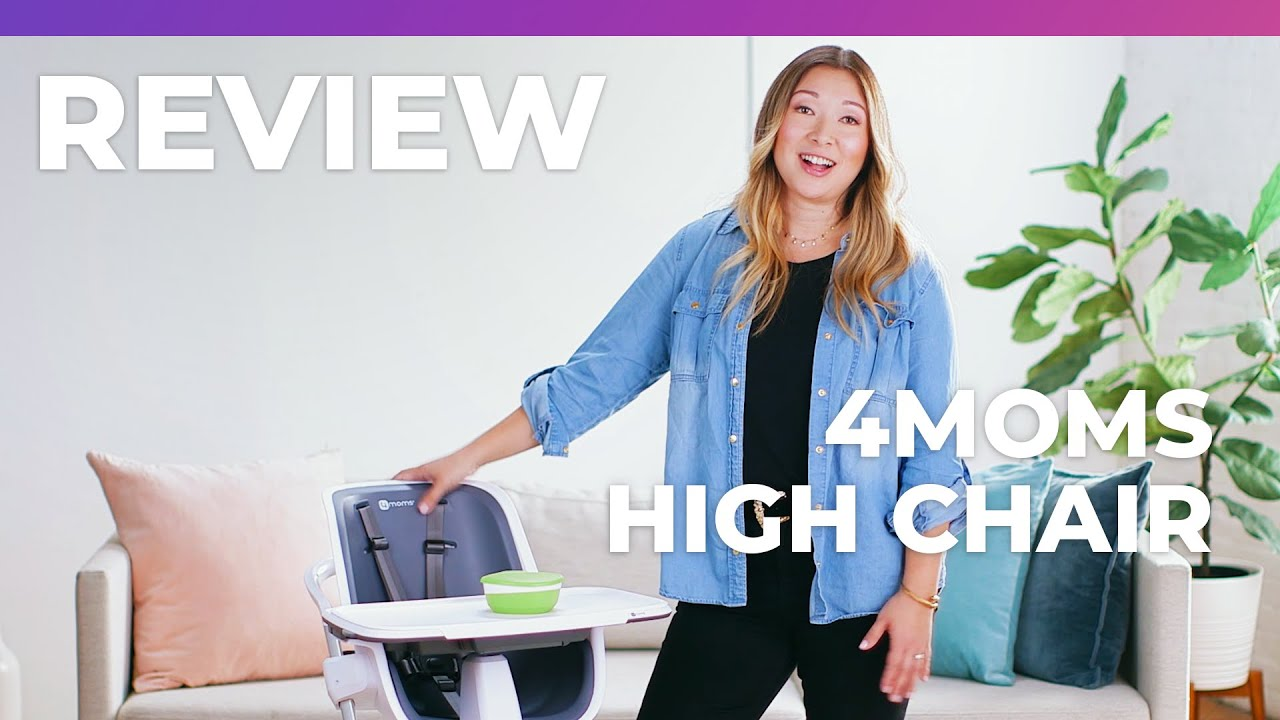4moms High Chair Review How To Make A Bean Bag Without Sewing What Expect Youtube