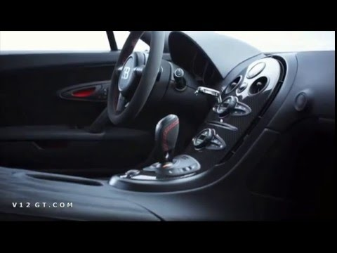 Bugatti veyron super sport interieur youtube for Interieur sport youtube