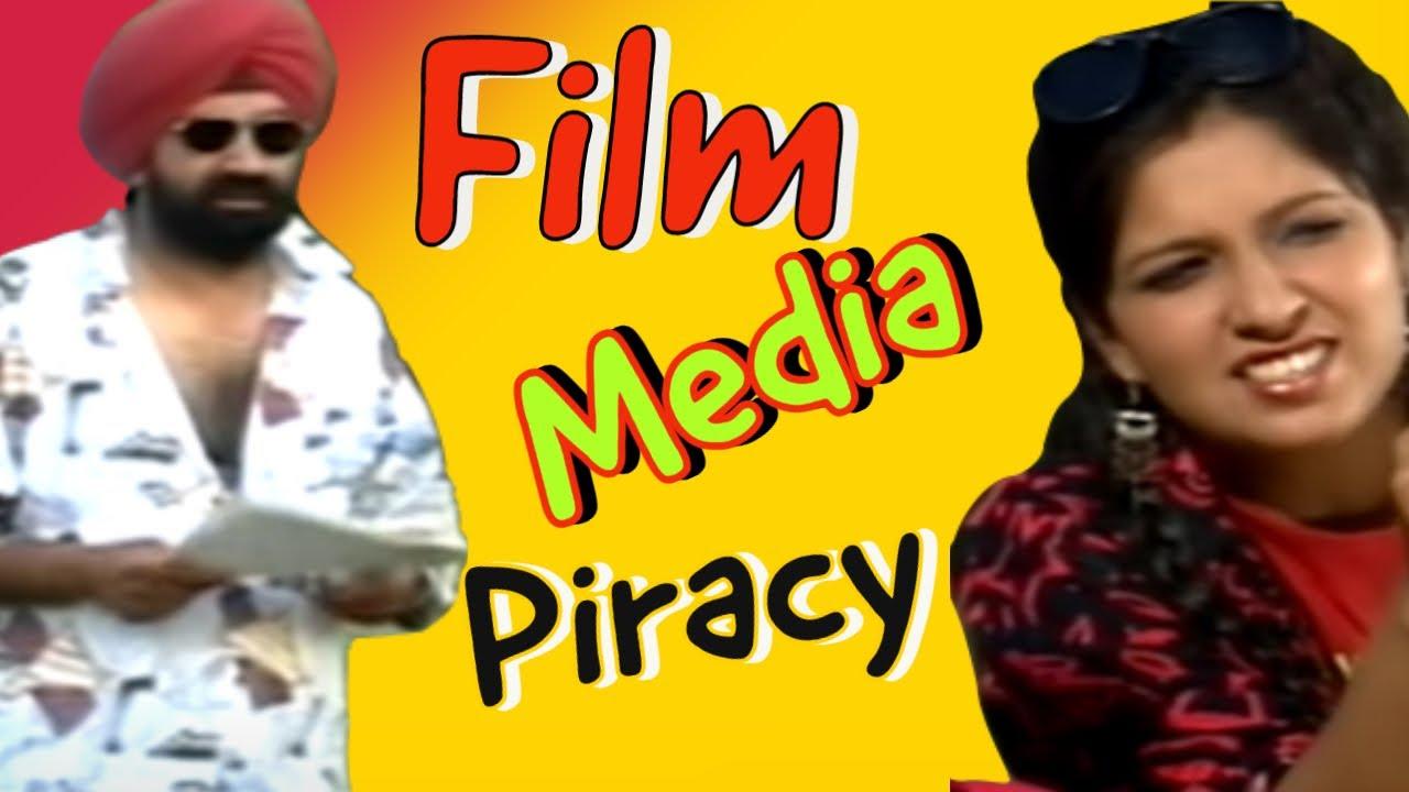 Film - Media Aur Piracy | Jaspal Bhatti | BN Sharma | Vivek Shauq | Savita Bhatti | Indian Comedian