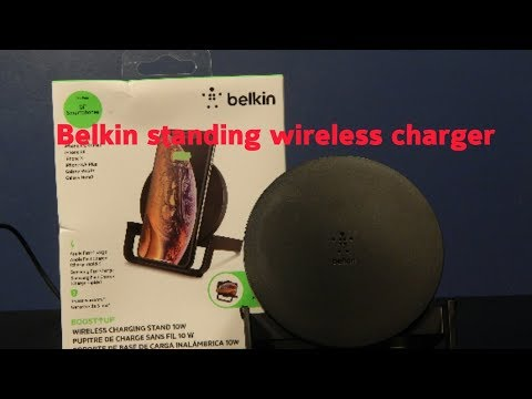Unboxing belkin stand wireless charger