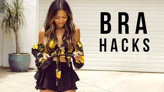 How To Wear A Bra With Tie Front Tops | Bra Hacks