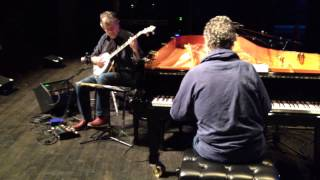 "Chick Corea & Béla Fleck in Rehearsal: ""Mountain"""