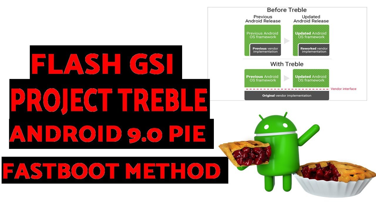 How to Flash Generic System Image (GSI) on Project Treble Devices (Android  9 0 Pie