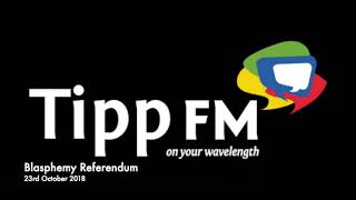 John Hamill debates the Blasphemy Referendum on Tipp FM