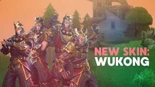THE MONKEY KINGDOM! NEW SKIN: WUKONG ft. FaZe Kitty, SoaR Ry and Dequan (Fortnite Battle Royale)