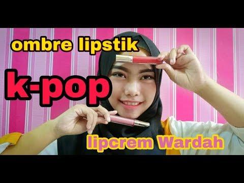 wardah-lipcrem-!!!-cara-ombre-lipstik-dengan-mudah-dan-cepat..