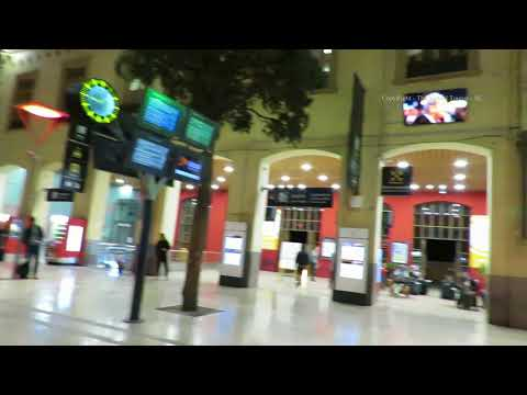 Marseille - Saint Charles Train Station in France 2