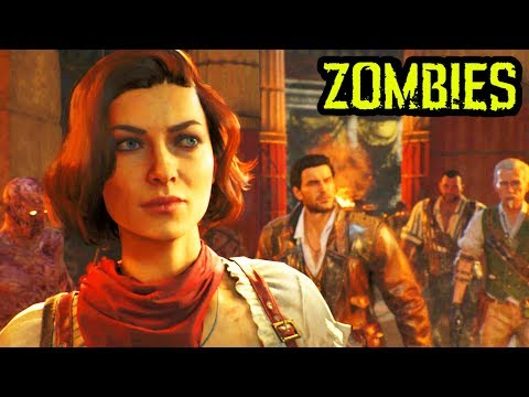 ANCIENT EVIL INTRO CUTSCENE! (Black Ops 4 Zombies DLC 2 Intro Cutscene)