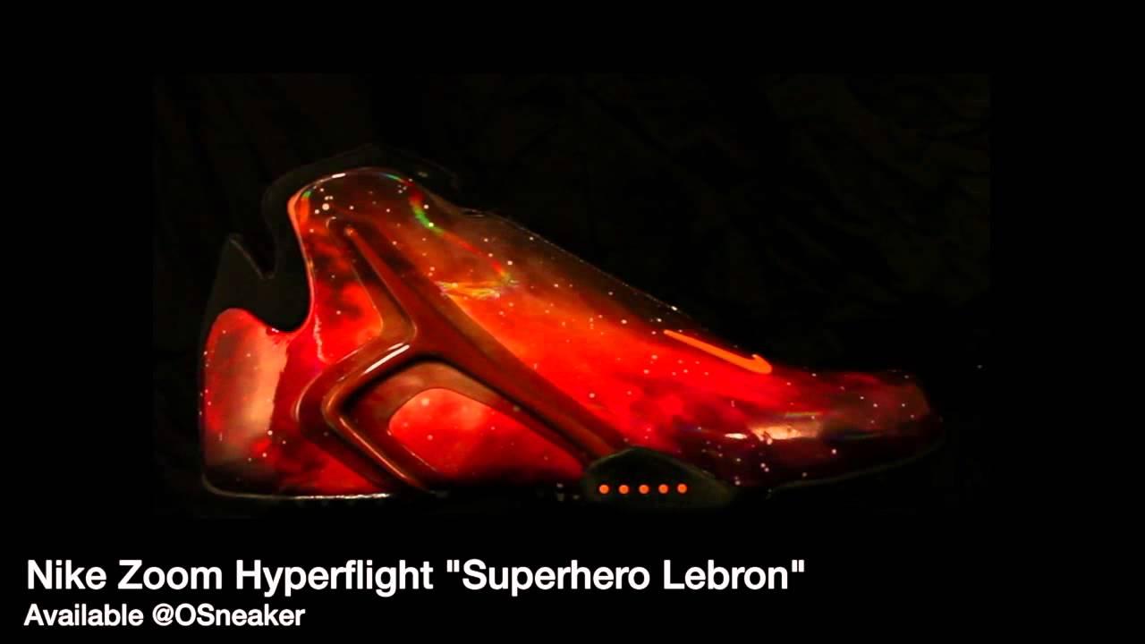 Nike Zoom Hyperflight Superhero Lebron Galaxy