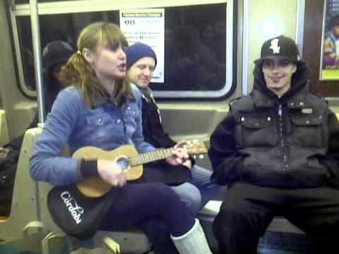 never a dull moment on the nyc subway