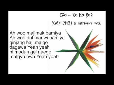 EXO Ko Ko Bop (easy lyrics)