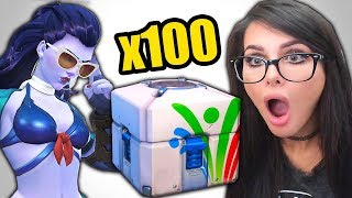 OVERWATCH SUMMER GAMES LOOT BOX OPENING (2017)