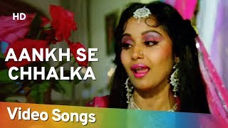 Aankh Se Chhalka (HD) | Bud-Kaar (1987) | Alka Yagnik Hits | Bollywood Hindi Song