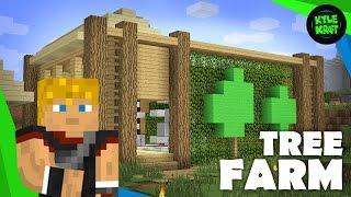 Building a Minecraft Survival Base | Ep. 08 | Tree Farm!