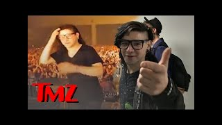 Skrillex Talks The Dangers Of DJing | TMZ