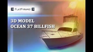 3D Model Ocean 37 Billfish