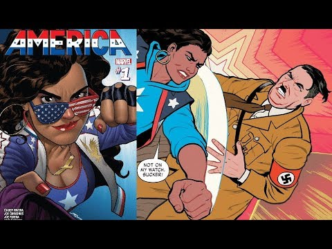 AMERICA #1 MARVEL COMICS : A FEMINIST'S SJW LESSON ON HOW TO SIGNAL A VIRTUE