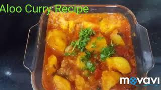 Aloo Curry Recipe/Aloo Ki Sabzi with gravy/Potato Curry/Simple Quick and Easy Recipe