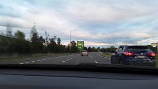 right lane hog on m7 motorway dcx01b with my family stickers
