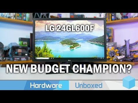 LG 24GL600F Review, The New Best Budget 144 Hz Monitor?