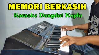 Gambar cover MEMORI BERKASIH Karaoke Koplo Duet Lirik Tanpa Vokal