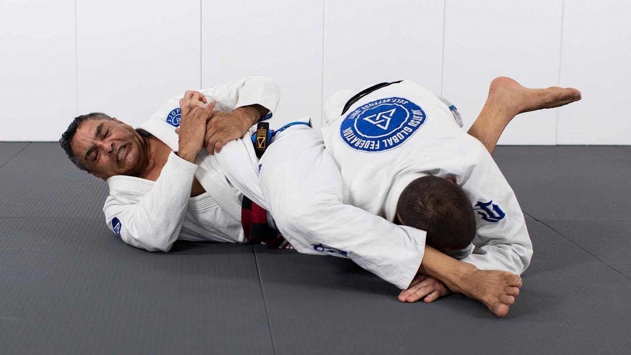 Learn the Jiu-Jitsu guard from Rickson Gracie